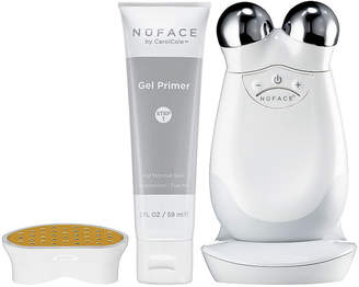 NuFace NU FACE Trinity Facial Toning Device + Wrinkle Reducer Attachment Bundle