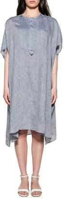 Bagutta Light Blue Linen Dress