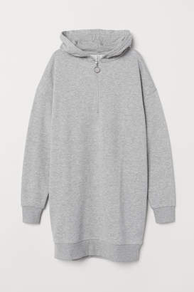 H&M Sweatshirt Dress - Gray