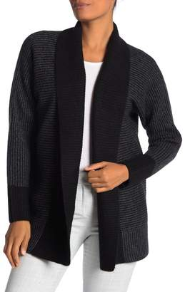 Magaschoni M BY Ribbed Cashmere Cardigan