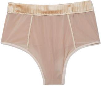 Kiki de Montparnasse Soft Mesh High-Waist Panty