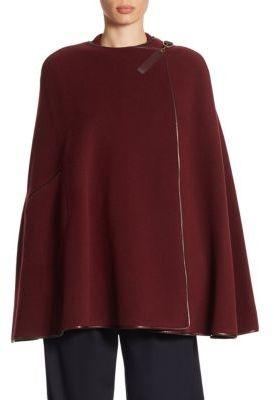 Ralph Lauren Collection Winsor Wool & Cashmere Cape $2,290 thestylecure.com