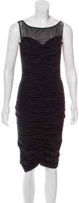 Chiara Boni Sleeveless Knee-Length Dress