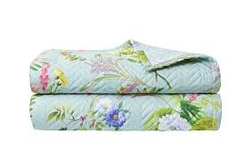 Yves Delorme Bouquets Kb Quilted Bedspread 275 x 260