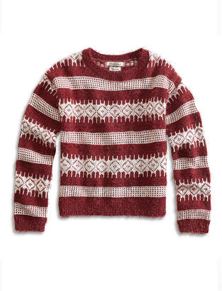 Lucky Brand MORE FUZZ SWEATER