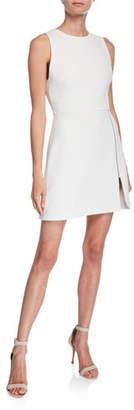 Alice + Olivia Julie A-Line Dress w/ Front Zipper