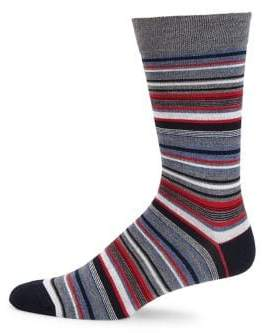 Saks Fifth Avenue COLLECTION Striped Knit Socks