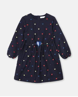 Stella McCartney Hearts Embroidery Dress