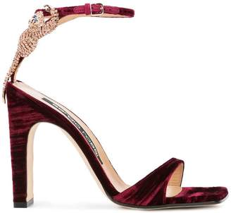 Sergio Rossi embellished high-heeled sandals