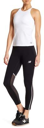 New Balance Mesh Vent Paneled Cropped Tights