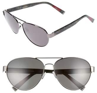 ED Ellen Degeneres 62mm Oversize Aviator Sunglasses