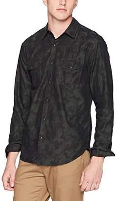 Lucky Brand Men's Casual Long Sleeve Camo Button Down Western Shirt