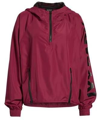 Ivy Park R) Quarter Zip Hooded Jacket