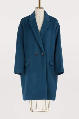 Isabel Marant Wool and cashmere Filipo coat