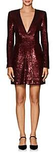 A.L.C. Women's Mara Sequined Fitted Dress - Wine
