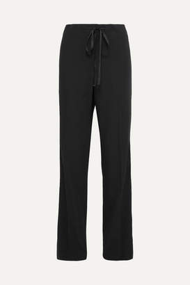 Bottega Veneta Wool-gabardine Pants - Black