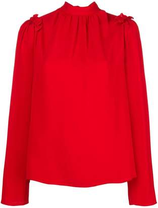 MSGM high neck blouse