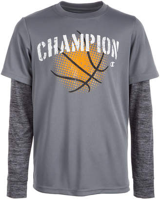 Champion Little Boys Basketball-Print T-Shirt