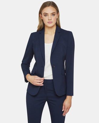 Oxford Alexa Wool Stretch Suit Jacket