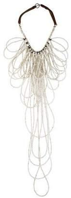 Brunello Cucinelli Riverstone Bead Multistone Necklace