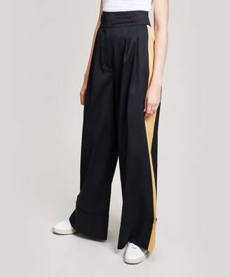 Palmer Harding palmer/harding Shadow Wide Leg Stripe Trousers
