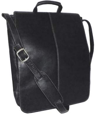 Royce Leather Vaquetta 17-in. Laptop Messenger Bag