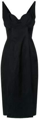 Tufi Duek fitted waist dress