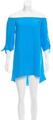 Amanda Uprichard Off-The-Shoulder Midi Dress