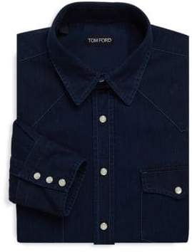 Tom Ford Casual Denim Dress Shirt