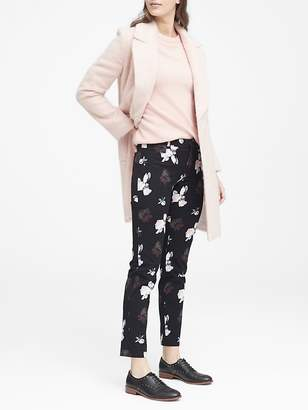 Banana Republic Sloan Skinny-Fit Floral Ankle Pant