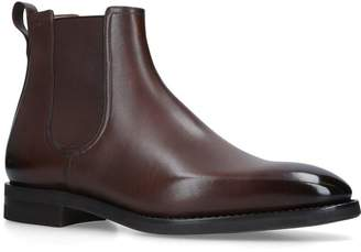 Bally Leather Scavone Boots