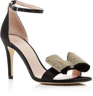 d2be1fed2ef5 Kate Spade Women s Gweneth Embellished Bow High-Heel Sandals