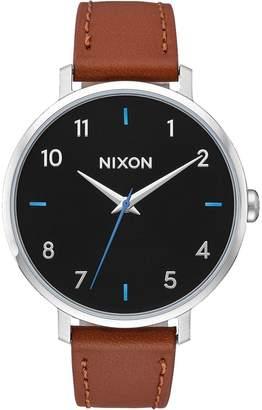 Nixon Arrow Leather Watch - Women's