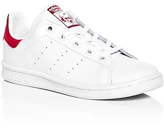 Adidas Girls' Stan Smith Lace Up Sneakers - Toddler, Little Kid $40 thestylecure.com