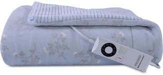 "Berkshire Floral Branches VelvetLoft 50"" x 62"" Electric Throw Blanket Bedding"