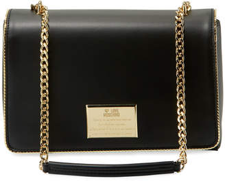 Love Moschino Faux-Leather Shoulder Bag