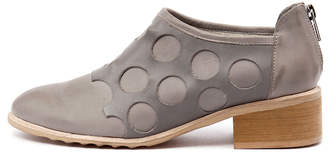Django & Juliette Pictone Grey-dk grey Boots Womens Shoes Casual Ankle Boots
