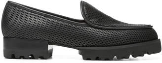 Donald J Pliner ELEN, Perforated Nappa Leather Loafer