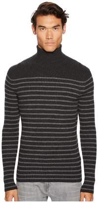 Vince Bretton Stripe Turtleneck Men's Sweater