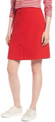 1901 Button Front Skirt (Regular & Petite)