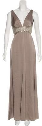 Versace Silk Evening Gown