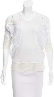 Ohne Titel Mesh-Accented Dolman Sleeve Sweater w/ Tags