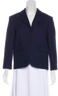 Celine Notch-Lapel Wool Blazer