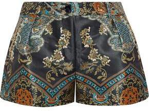 Camilla Dynasty Days Pleated Jacquard Shorts