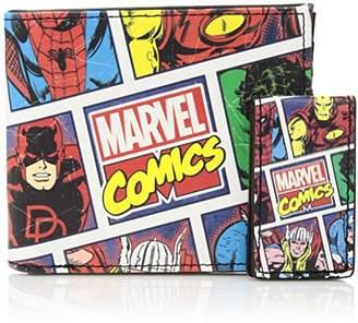 Marvel Men's Slimfold Wallet Gift Set With Money Clip