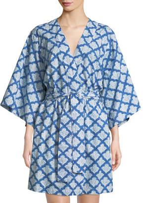 Roller Rabbit Jemina Short Kimono Robe c6e447b5f