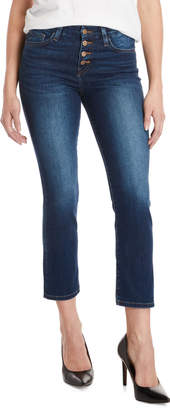 Flying Monkey Mammoth Button Fly Cropped Jeans