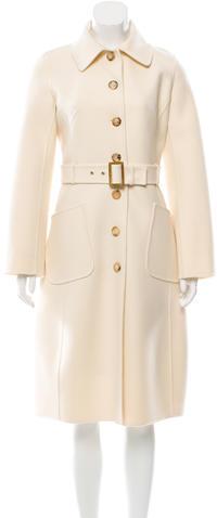 CelineCéline Belted Wool Coat w/ Tags
