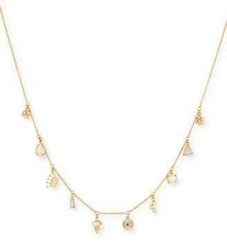 Tai Dangling Crystal Charm Necklace