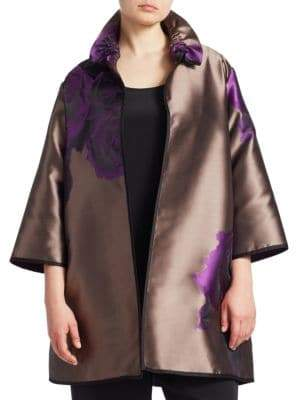 Caroline Rose Harvet Moon Open-Front Jacket
